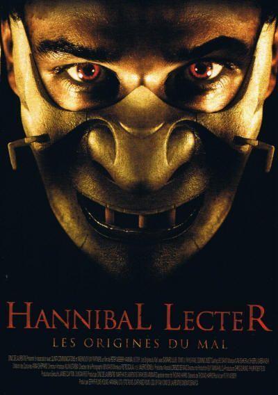 Hannibal lecter ou cannibale tueur - Personnage film horreur ...